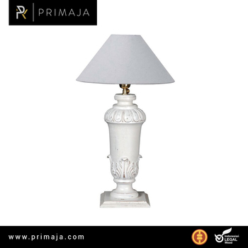 Classic wooden night lamp for bedroom