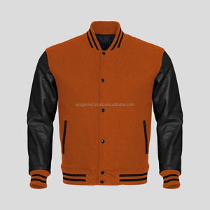 OEM service Chinese factory wholesale custom mens sherpa fleece varsity jacket