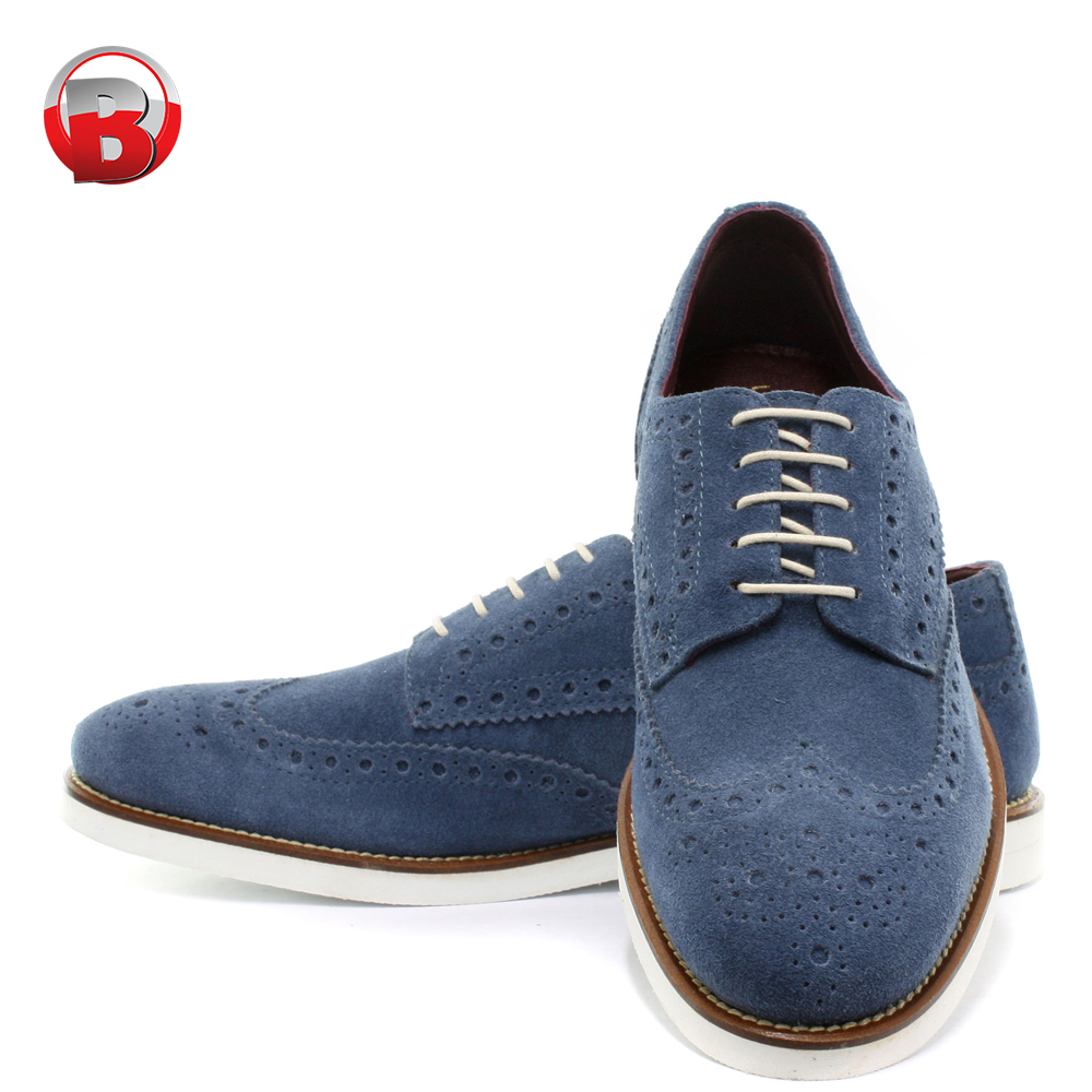 Wholesale Factory Price Brogue Brand Leather Man Dress Shoes