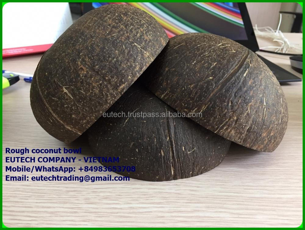 Natural coconut shell bowl made in Vietnam with cheap price (whatsapp/Line: +84 983653708)