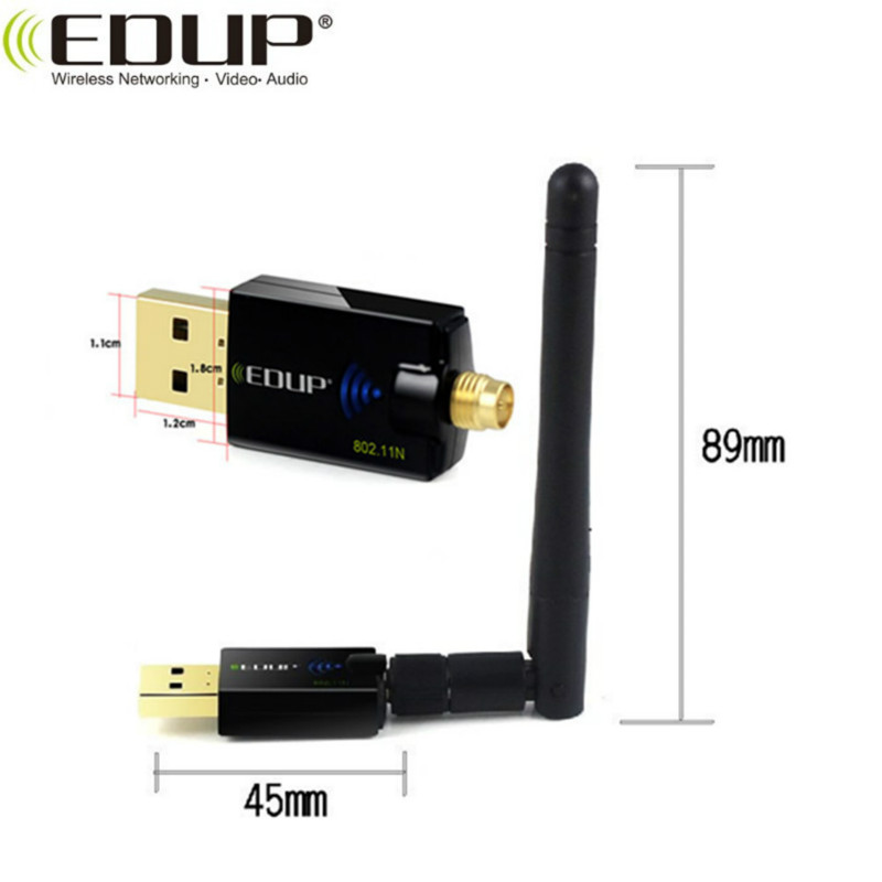 1900Mbps  2.4GHz/5GHz Dual Band Realtek RTL8814 USB3.0 WiFi Adapter