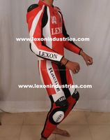 Motorcycle racing leather jacket/ motorcycle suits/motorbike suits- High Tech Motorcycle Leather Racing Suit
