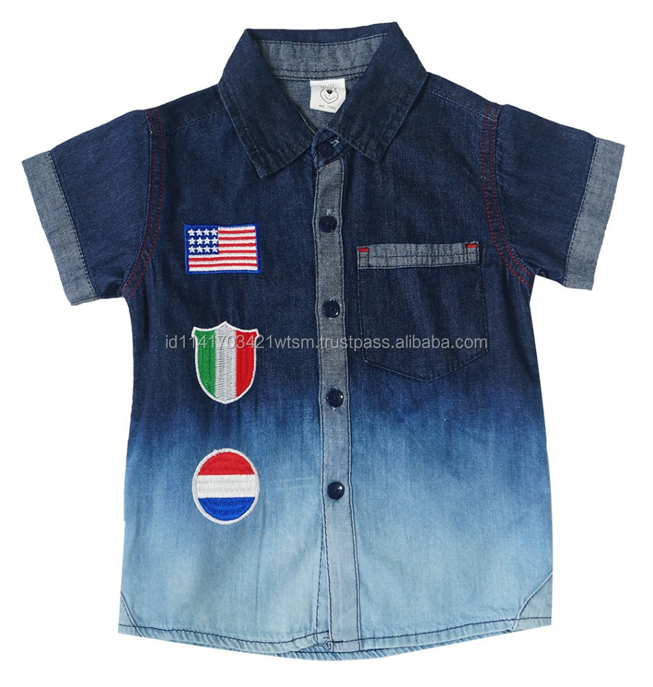 Hot Sale Denim Clothes Best Quality for 1-3 Years Old
