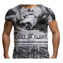 Mens Complete 3D Art Animal printed T Shirts
