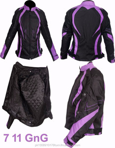 All Season Ladies Motorbike Motorcycle Armoured Textile Cordura Waterproof Jacket