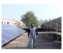 50 KW On-grid Solar Power Plant Rooftop Project