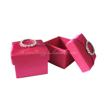Thailand's Premium Quality Luxury Gift Giving Handmade Silk Favor Box