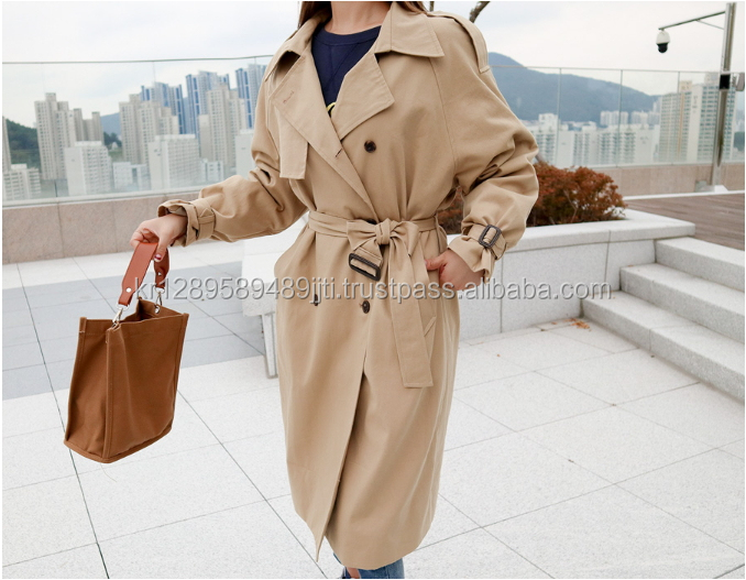 REALCOCO fashion clothing 2017 Tway trench coat