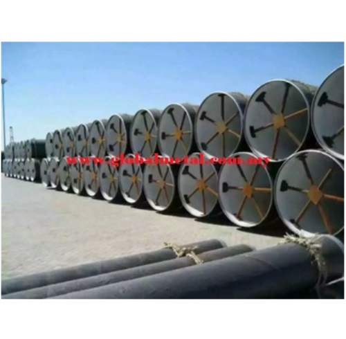 Customize Sizes Large Diameter OD Mild Steel Pipe with Various Grade from Manufacturer
