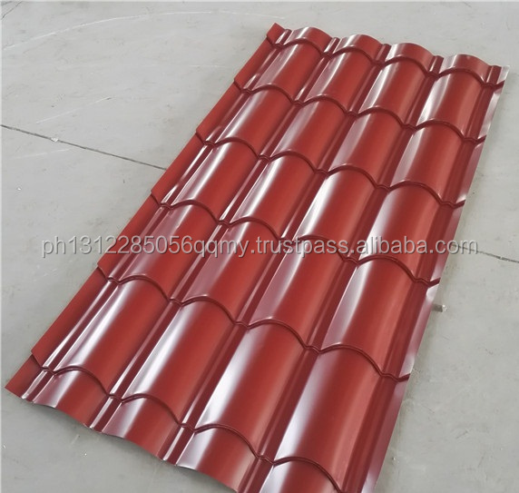 Pre-painted Galvanized Corrugated Roofing Sheet.
