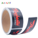 Brand name logo permanent adhesive label stickers
