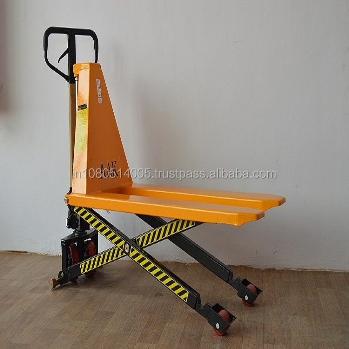 Different Types of Hand Pallet Scissor lifting pallet truck