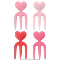 Made In Japan Japan Design heart shaped chocolate Arrangement Party Fork Confectionery