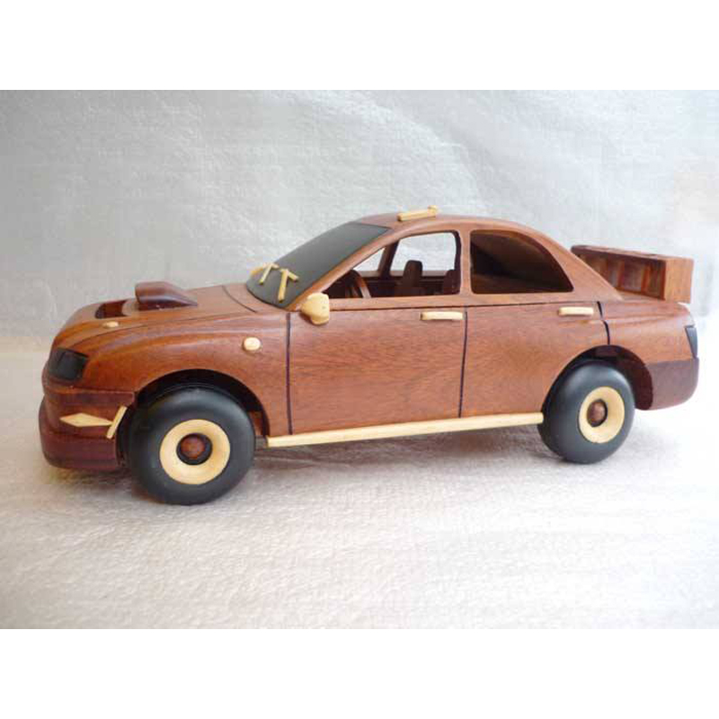 Car Model Mini Motorcycle Model Wooden Old Style