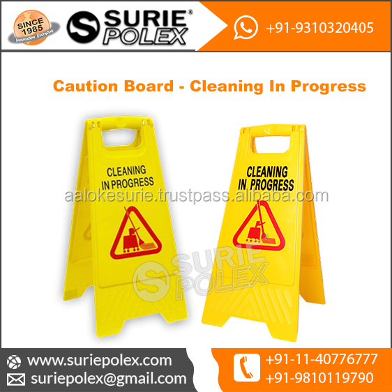 Caution Board Cleaning In Progress