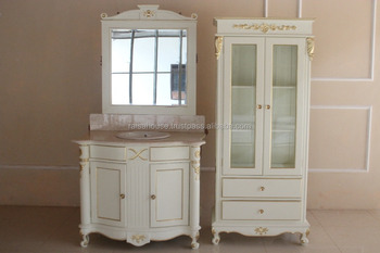 French Furniture Indonesia - Bathroom Vanity and Cabinet Mahogany Furniture