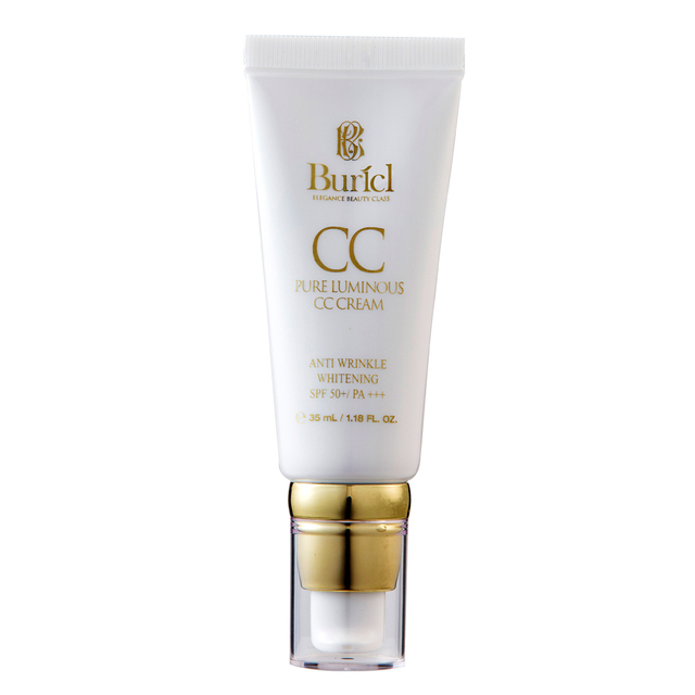 Top selling Whitening and anti wrinkle perfect cover brightening Korean makeup cosmetics pure luminous BB / CC foundation cream