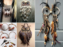 OWL feather decoration 3D Dream Catcher