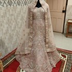 Indian Designer Bridal wedding heavy Dress