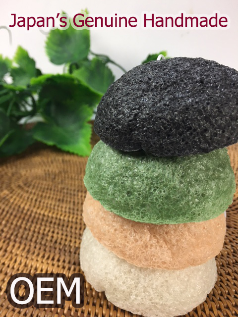 OEM OK! 100% Natural KONJAC SPONGE Great Quality