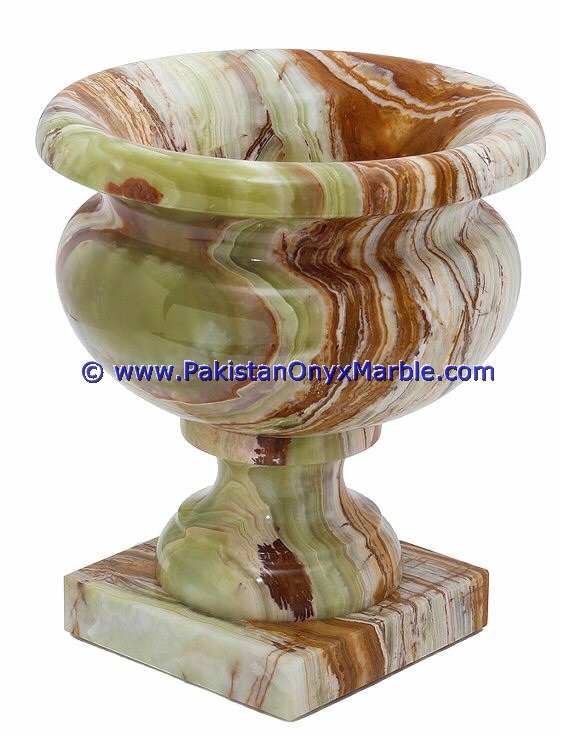 DECORATIVE WHOLESALE ONYX PLANTERS COLLECTION