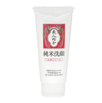 Japanese very popular Jun-mai Face Wash Natural Rice Bran face wash foam 135g