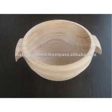 Wooden Soup Bowl with Handle At Cheap Price
