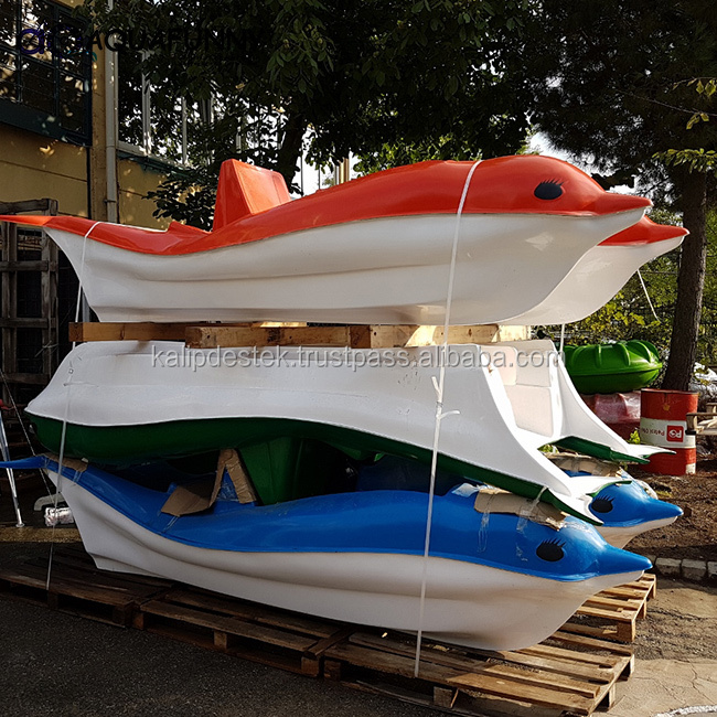 AQUAFUNNY New Style Hot Selling Dolphin Type Water Pedal Boat For Sale