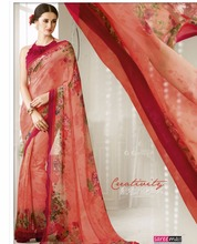 online shopping indian printed pure georgette saree models