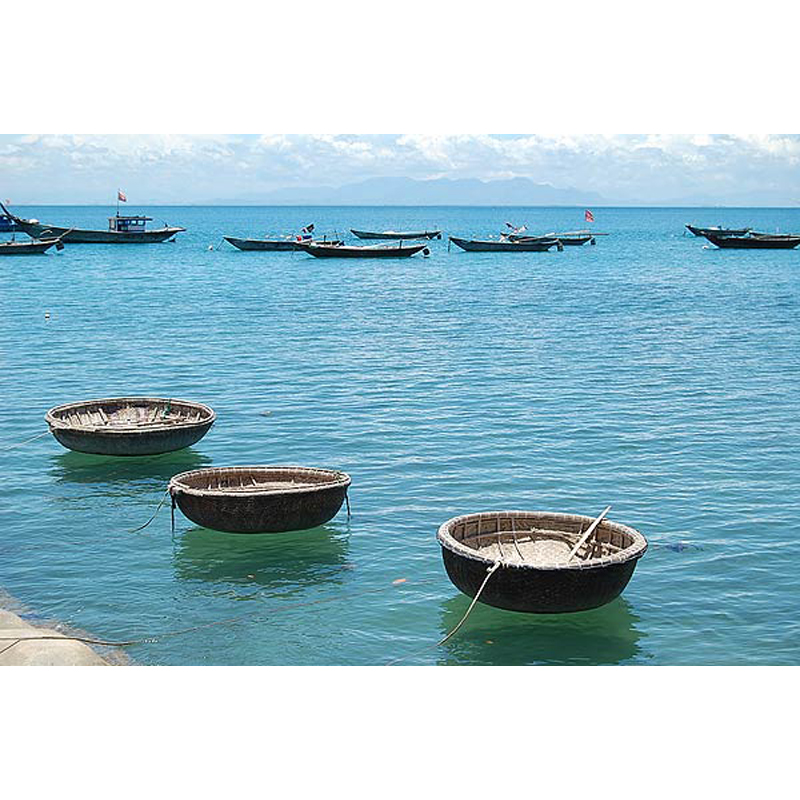 Vietnamese Bamboo Coracle