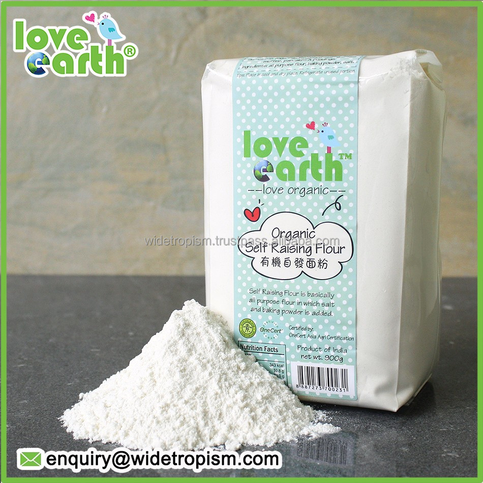 ORGANIC SELF RAISING FLOUR FOR LOVE EARTH