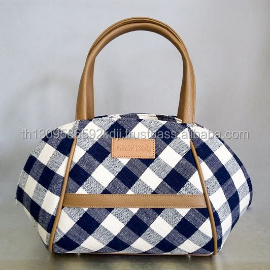 Luxury and High Quality Handwoven Cotton Fabric Handbags For Women and Ladies