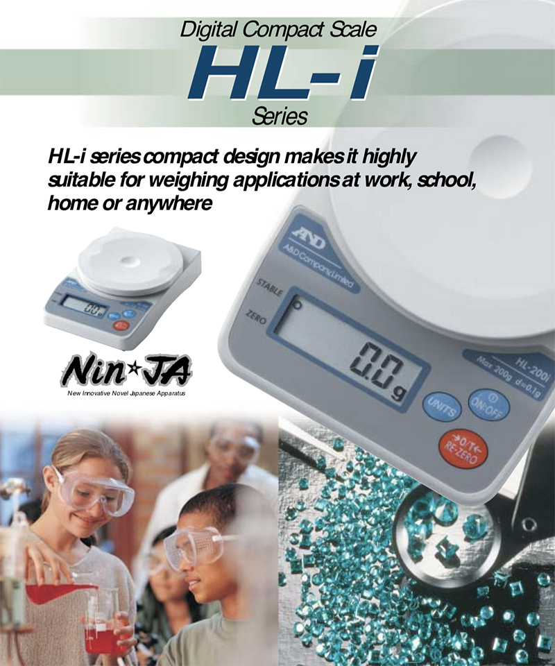 HL-200i Digital Compact Scale in Japan