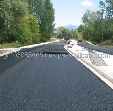 Asphalt Reinforcement Polyester ( PES / PET ) Rolls PVC Coated - Tensile Strength 50/50