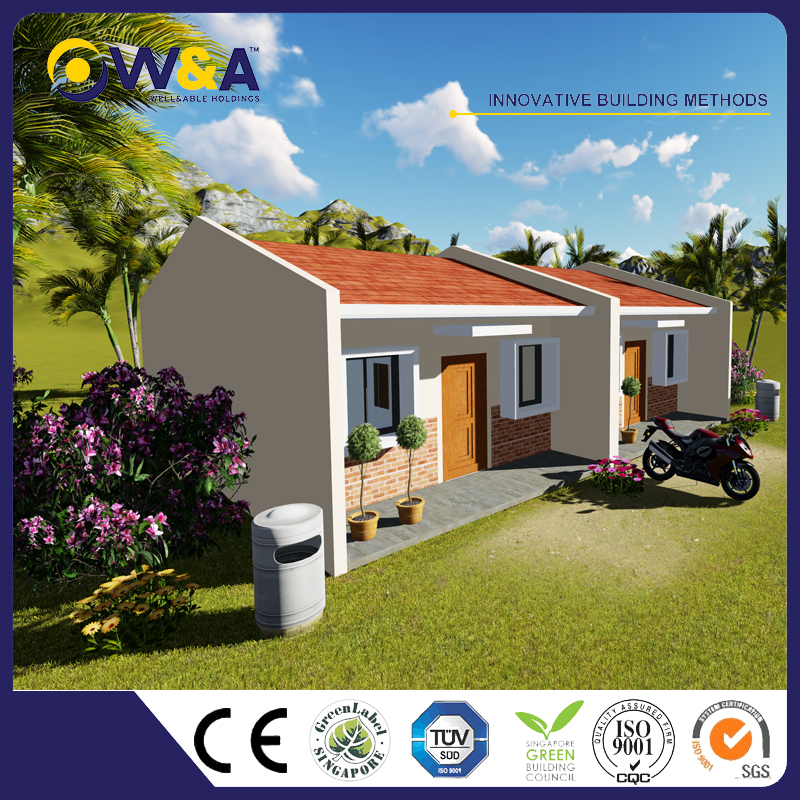 (WAS1005-36D)Low Cost Prefabricated Houses Prices for Sale of Light Steel Prefab Villa Price for Sales