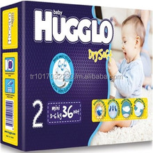 Best quality absorption disposable Hugglo Baby & Adult Diapers