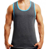 Men's Tank Tops Fashion 100% Cotton Brand Sleeveless Undershirts For Male Bodybuilding Tank Tops