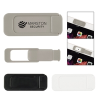 Security Webcam Cover - slide to open/close, adheres to device with strong adhesive and comes with your logo