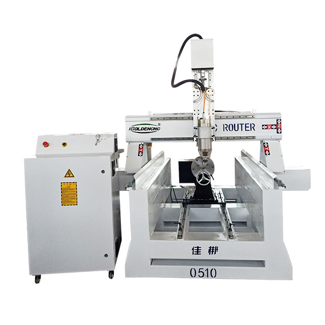 new design rotary spindle cnc router/wood cnc with rotary device