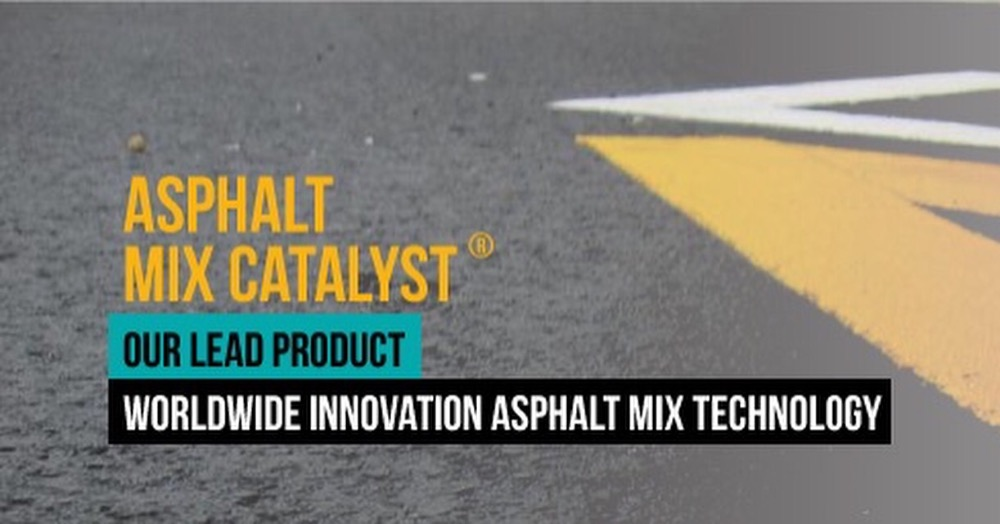 Catalyst asphalt mix