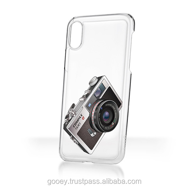 sticky phone case for various iPhone models goo.ey House Icon Design - compax