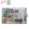 Translucent Storage Case with clip, removable hangers and adjustable compartments (CL 270)