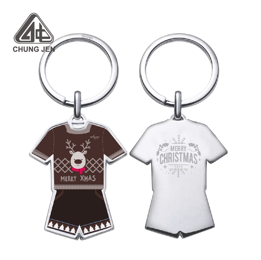 Custom Made Soccer Jersey Sports Keychain