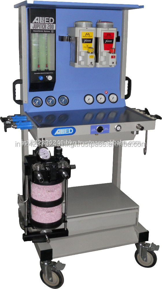 Electrostatically Powder Anaesthesia Machine