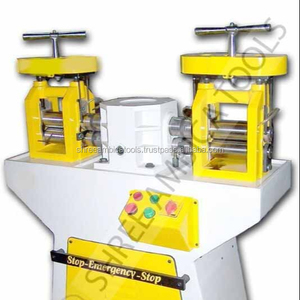 Jewellery Making - Double Head Jewellery Rolling Mill Machine