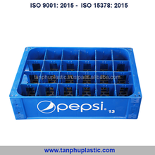 Plastic crate for 24 bottles of beer and soft drinks -Line/Viber/Wechat/Whatsapp: +84904943058