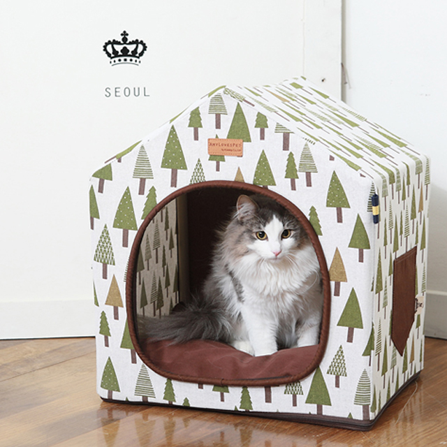 Eco-friendly pet dog cat house amylovespet Garden house
