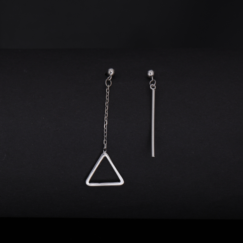 Latest Design Fashion Asymmetry Drop Earrings For Girls