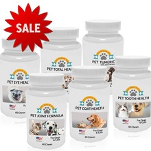 Pet Health Supplements - Private Label or Wholesale