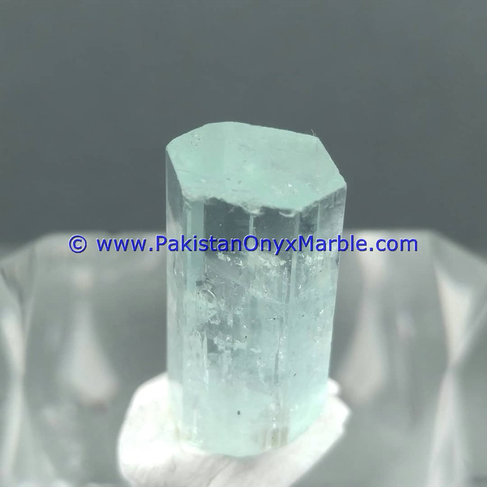 BEST HIGH QUALITY AQUAMARINE BERYL CRYSTAL FROM NORTHERN AREAS MINE PAKISTAN